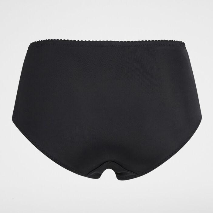 Culotte ventre plat unie femme noir