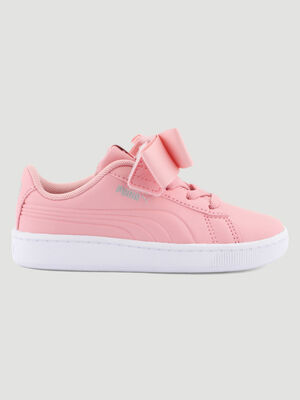 Tennis Puma VIKKY RIBBON rose garcon
