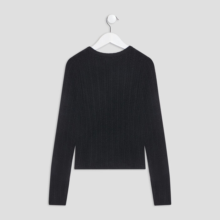 Pull manches longues Liberto fille noir