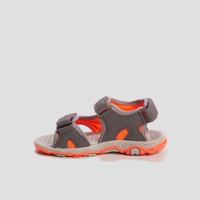 Sandales à scratchs garçon gris