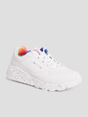 Runnings Skechers blanc fille