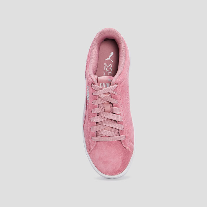 Baskets tennis Puma fille rose