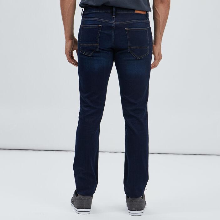 Jeans regular stretch homme denim brut