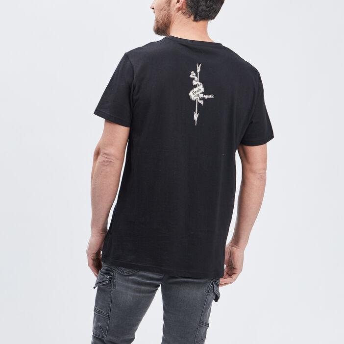 T-shirt Metallica homme noir