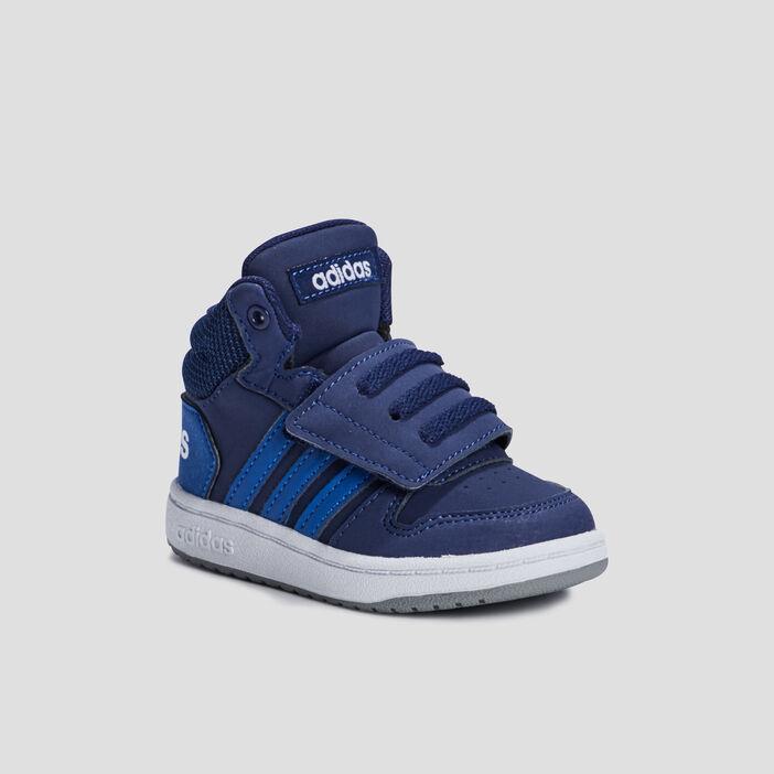 Baskets montantes Adidas bébé garçon bleu