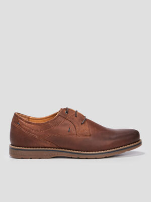Derbies a lacets Trappeur marron homme