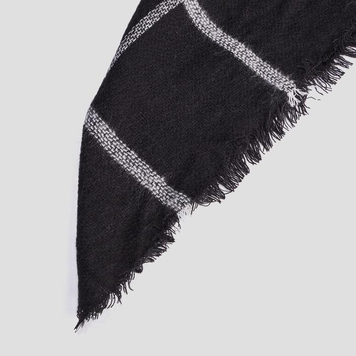 Écharpe femme noir