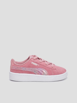 Baskets plates Puma rose bebef