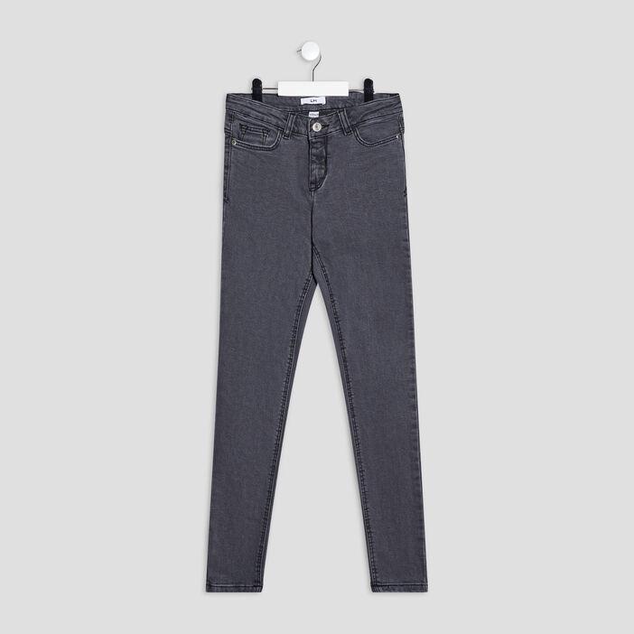 Jeans skinny fille denim noir
