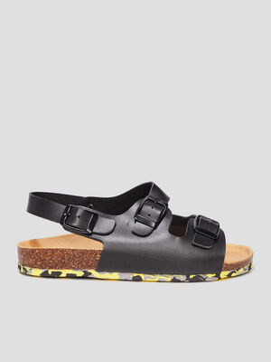 Sandales Trappeur noir garcon