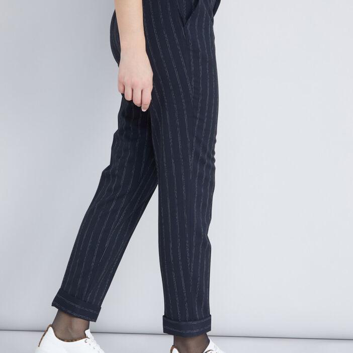 Jean 5 poches femme multicolore