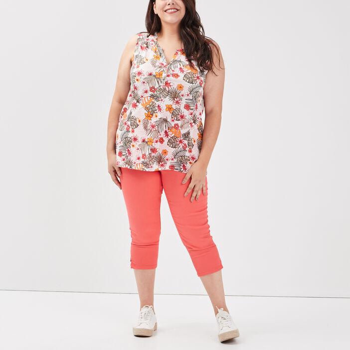 Débardeur grande taille femme grande taille multicolore