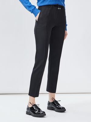 Pantalon jogging city noir femme
