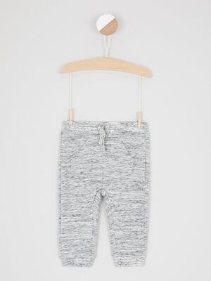 Jogging chine avec poches gris garcon