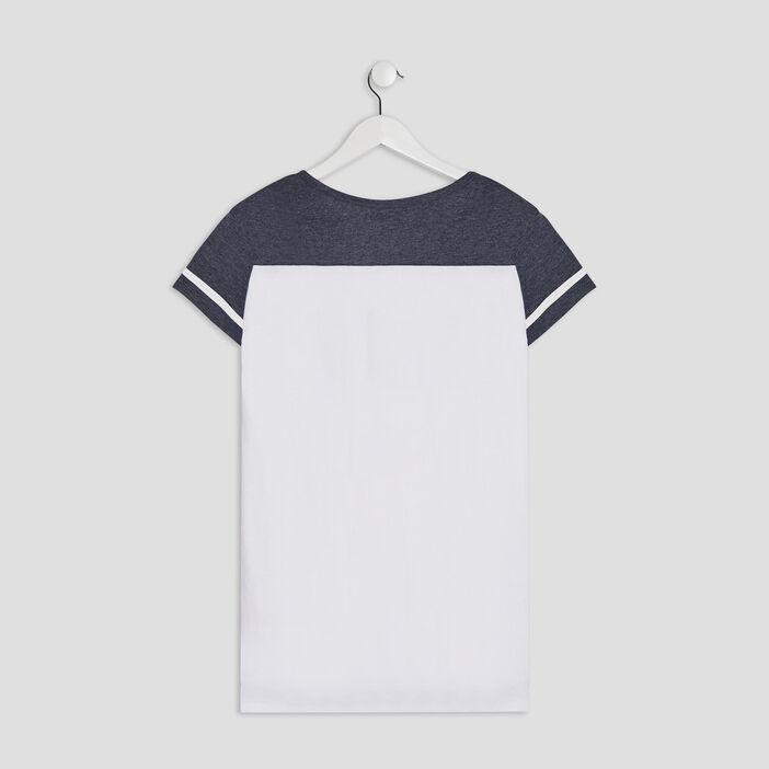 Chemise de nuit fille blanc