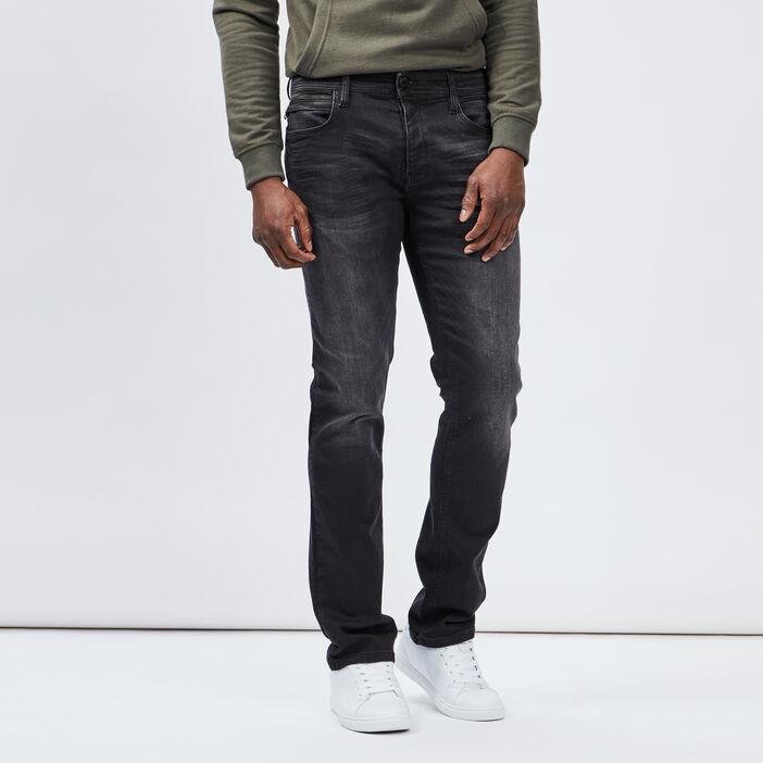 Jeans regular homme noir