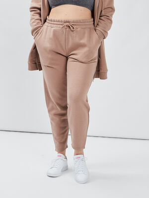 Pantalon jogging taupe femmegt