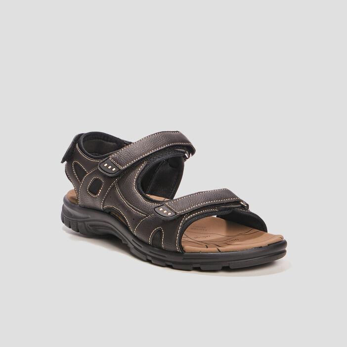 Sandales Trappeur homme marron