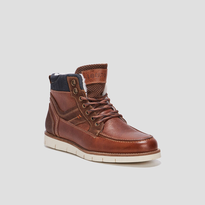 Bottines plates Liberto homme marron