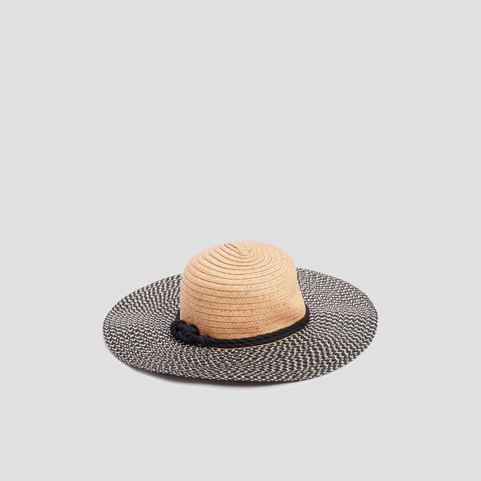 Chapeau de paille femme multicolore