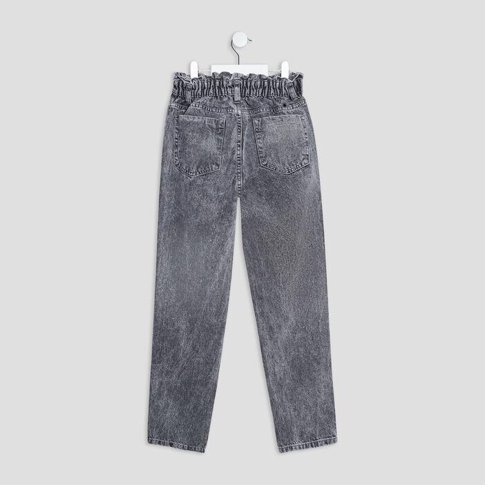 Jeans mom Liberto fille denim gris