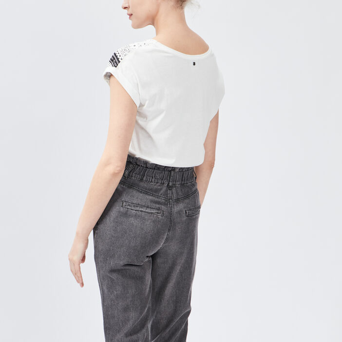 T-shirt Liberto femme blanc