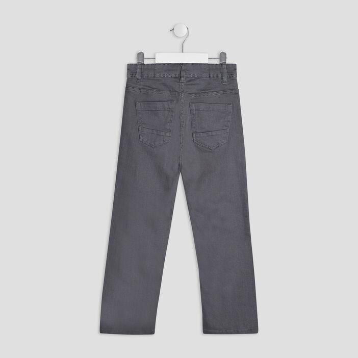 Pantalon regular garçon gris