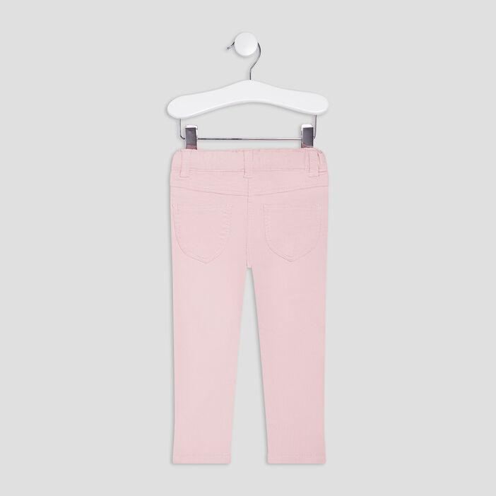 Jegging à poches bébé fille rose