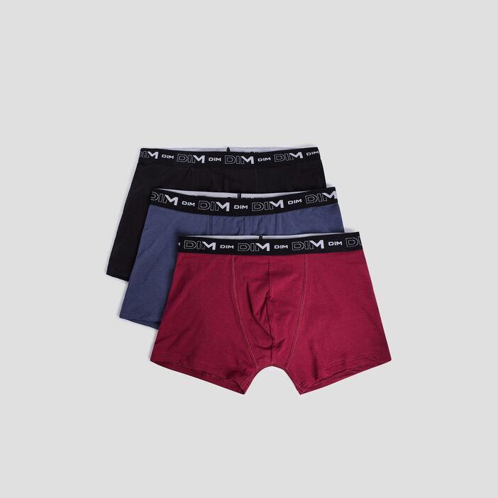 Lot 3 boxers DIM homme violet