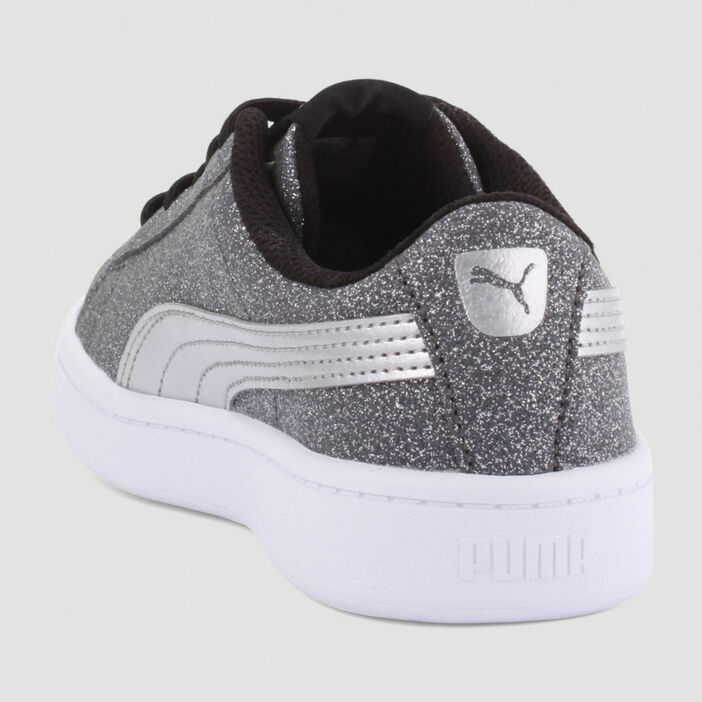 Tennis Puma VIKKY GLITZ garçon couleur argent