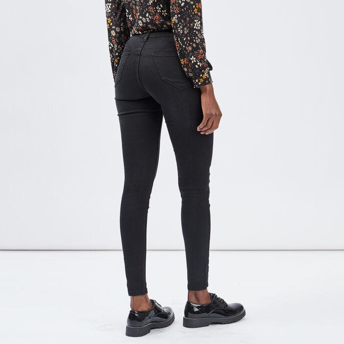Jegging taille basse femme noir
