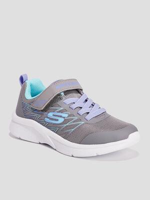 Runnings Skechers gris fille