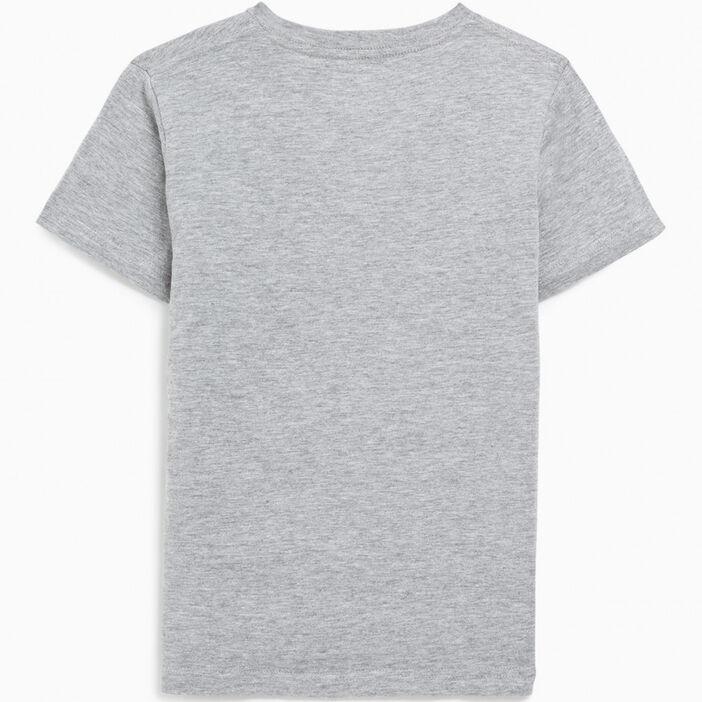 T-shirt manches courtes garçon gris