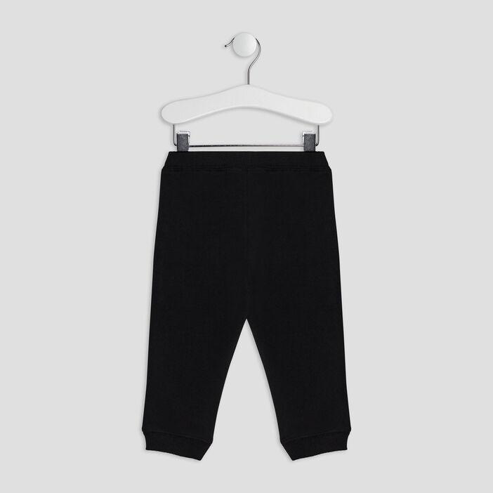 Jogging avec poches bébé garçon noir