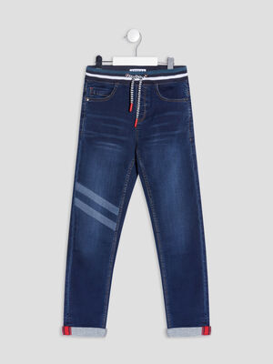 Jeans slim Creeks denim stone garcon