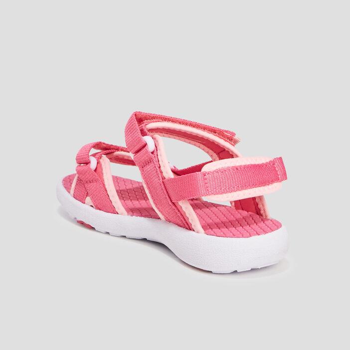 Sandales fille rose