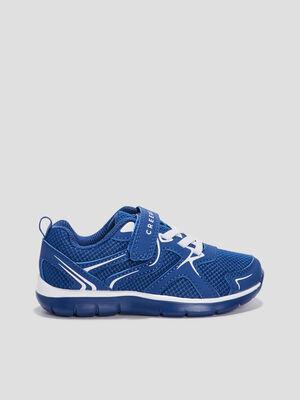 Baskets running Creeks bleu garcon