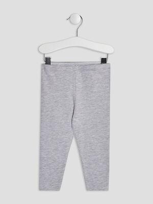 Pantalon legging gris bebef