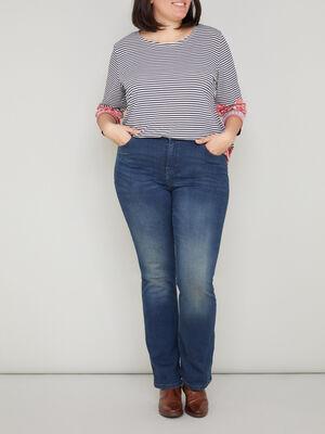 Jeans skinny grande taille denim dirty femmegt