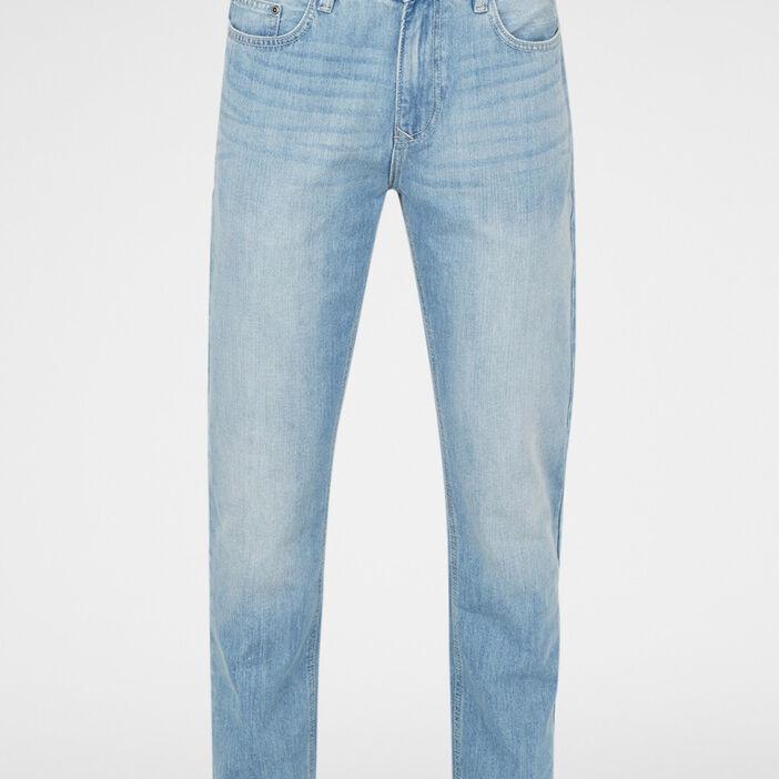 Jeans regular homme denim bleach
