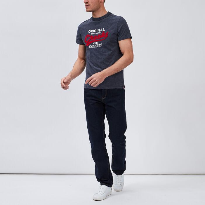 T-shirt manches courtes Creeks homme bleu