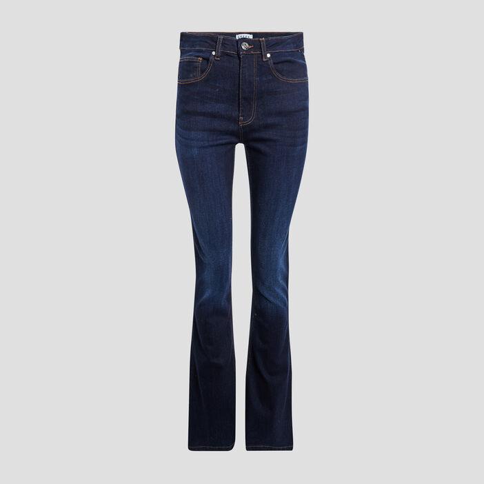 Jeans bootcut Creeks femme denim brut