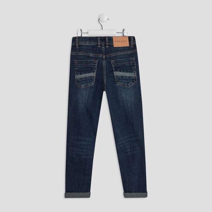 Jeans regular Creeks garçon denim brut