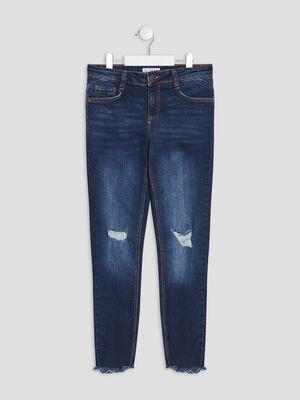 Jeans skinny Creeks denim brut fille