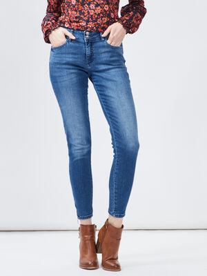 Jeans slim 78eme Creeks bleu femme