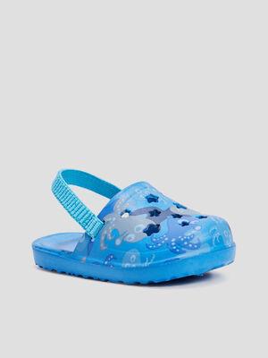Sabots de plage bleu bebeg