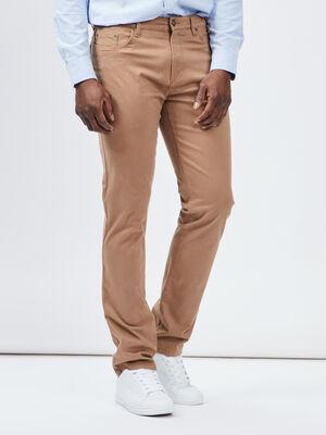 Pantalon droit Trappeur beige homme