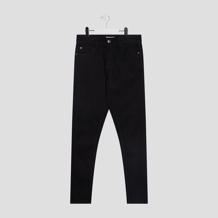 Jeans skinny garçon noir