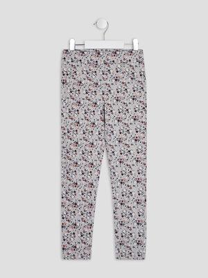 Pantalon jogging gris fille