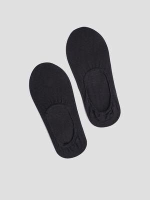 Lot 2 paires protege pieds DIM noir femme
